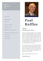 Paul Ruffles Profile C.V.