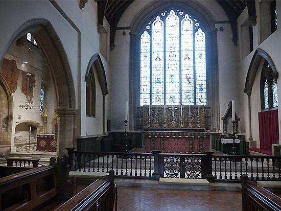 st john cirencester religous building church lighting design