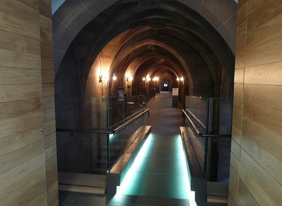 rylands library manchester historic buildings lighting design