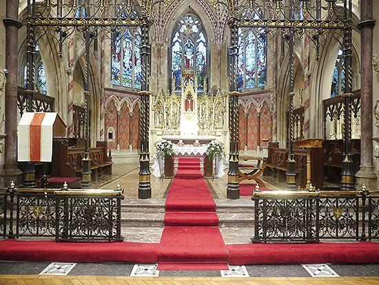 st john the evangelist bath religous building church lighting design